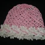 Ажурная шапочка для девочки