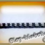 Крестообразный набор петель спицами