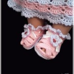 Вязание крючком сандалики