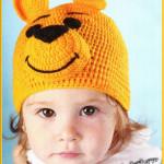 Вязание детская шапочка